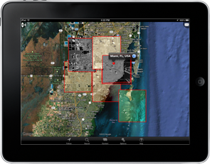 GO Mobile Enhanced Geospatial View