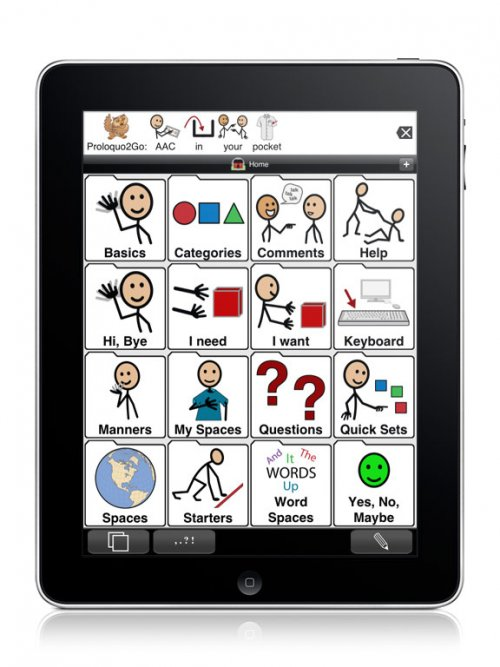 Proloquo2Go Software-iPad