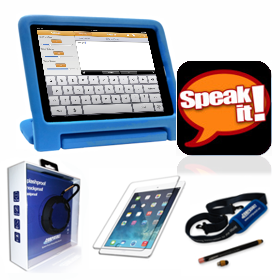 Outspoken Communicator Mobile System with SpeakIt