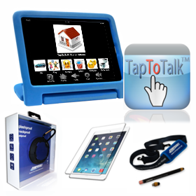 Outspoken Communicator Mobile System with TapToTalk